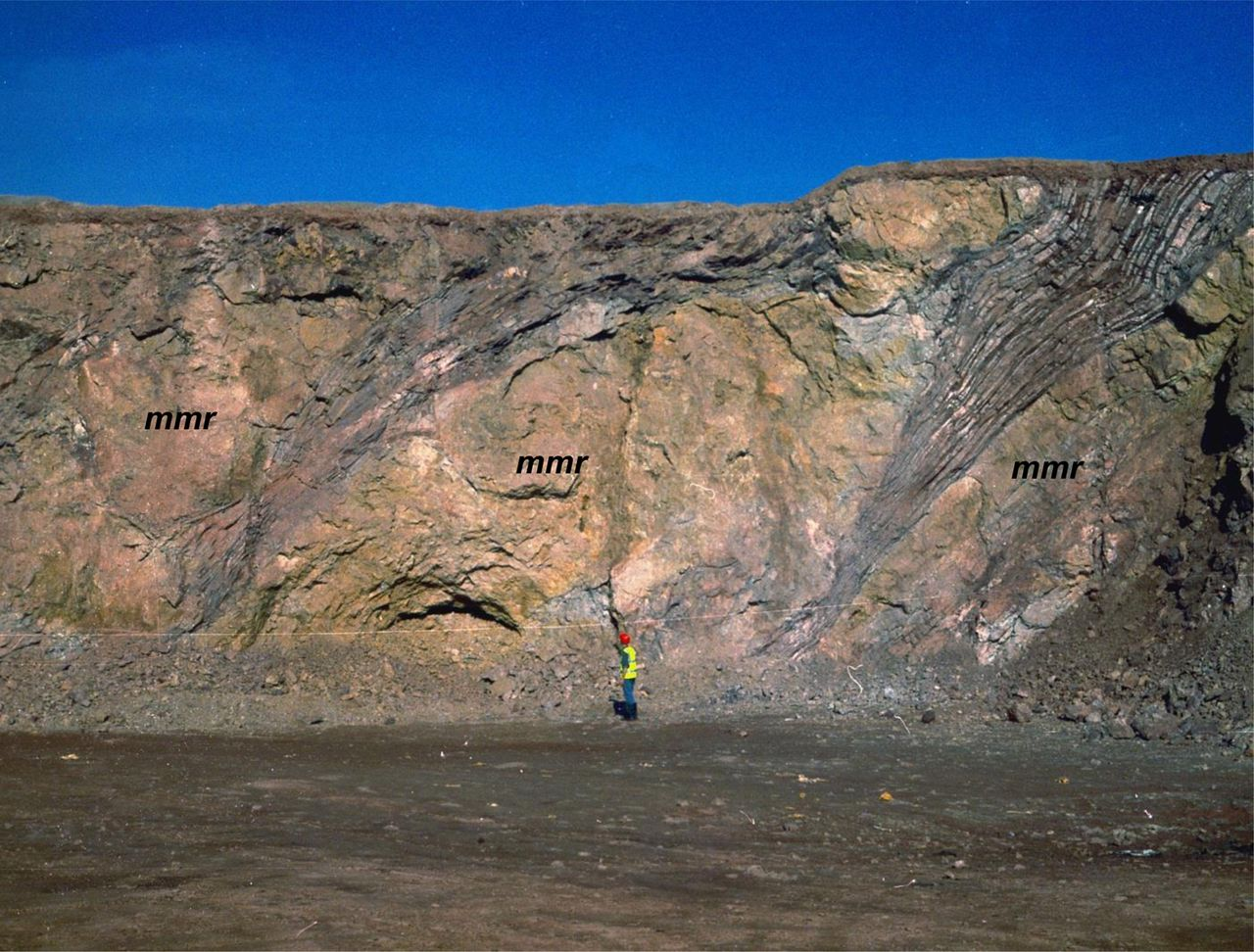 A window into the Cambrian basement and early Carboniferous